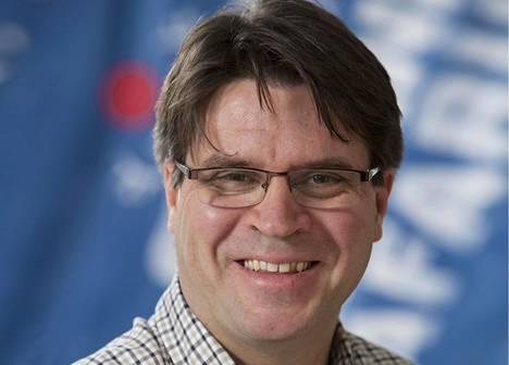 Lapin Safarit Oy:n toimitusjohtaja ja Lapin tulokuningas Jyrki Niva.