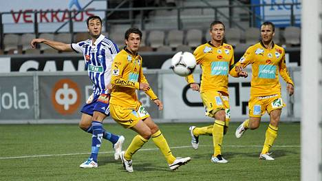 Keltapaitainen IFK Mariehamn vei nimiinsä Suomen fair play -kilvan.