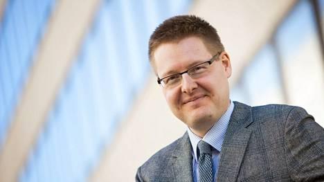 EK:n johtaja Sami Pakarinen.