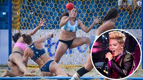 Norja kohtasi vuoden 2017 MM-kisoissa Argentiinan sääntöjen määräämissä asuissa.