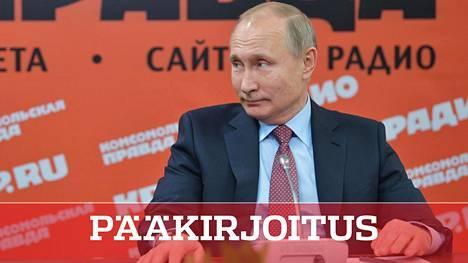 Vladimir Putin tapasi vastikään Venäjän tiedotusvälineiden johtoa Komsomolskaja Pravdan tiloissa. Halutessaan Kreml pystyy saamaan Venäjän mediaan läpi yhtenäisen viestin, vaikkapa sitten talvisodasta.