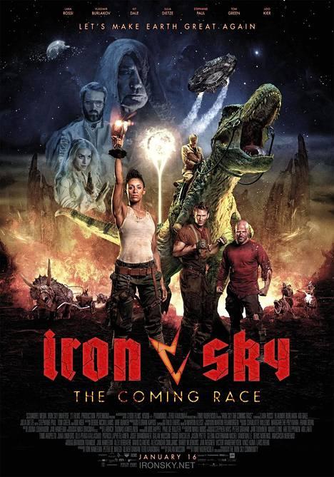 Iron Sky: The Coming Race -elokuvan juliste.