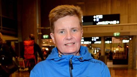 Marjaana Heikkinen kiskaisi MM-hopeaa keihäänheitossa.