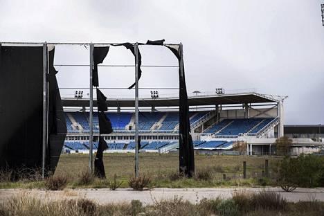 Monet Ateenan vuoden 2004 olympialaisten suorituspaikoista näyttävät nyt tältä.