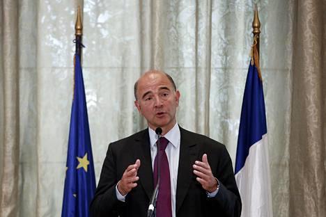 Ranskan valtiovarainministeri Pierre Moscovici.