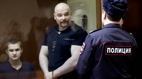 Maksim Martsinkevitsh kuvattiin oikeudessa Moskovassa joulukuussa 2018.