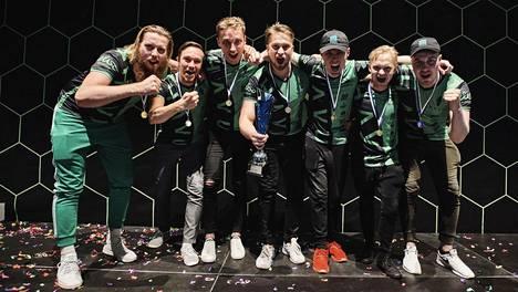 HAVU Gaming voitti viime kesänä NHL-pelisarjan 6vs6-pelitilan Suomen mestaruuden.