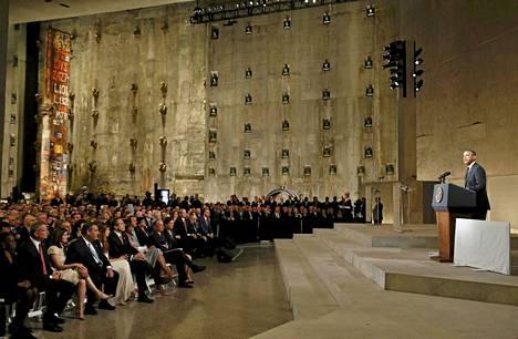 Presidentti Barack Obama kutsui museota avajaisissa toivon ja paranemisen pyhäksi paikaksi.