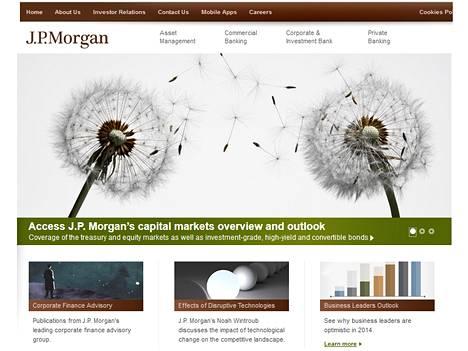 Hakkerit puhalsivat JPMorganin asiakkaiden tilitietoja.