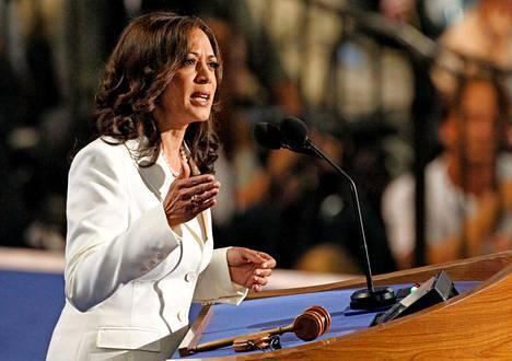 Kamala Harris Kalifornian oikeusministerinä syyskuussa 2012.