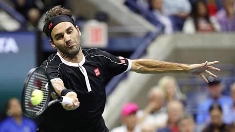 Roger Federer on voittanut urallaan 1224 tennisottelua.