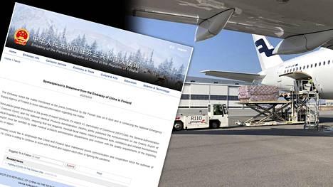 Kiinan Suomen-suurlähetystön tiedotteen mukaan maa pitää vientituotteiden laatua tärkeänä.