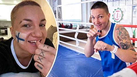 Elina Gustafsson päätti lopettaa nyrkkeilyuransa 28-vuotiaana.