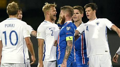 Suomalaiset ja islantilaiset olivat eri mieltä tuomioista.