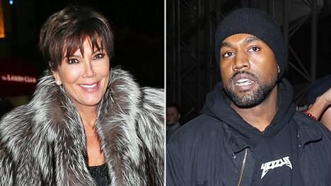 Kris Jenner on hermostunut Kanye Westin Twitter-sekoiluun.