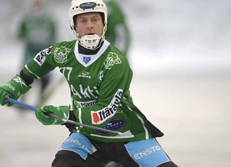 Ikinuori Sami Laakkonen oli runkosarjan ykkönen.