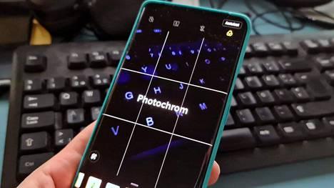 Phtotochrom-kuvat ovat OnePlus 8:n eritysominaisuus.