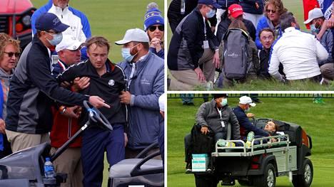 Tom Felton sai sairauskohtauksen kesken julkkisten golfkisan Wisconsinissa.