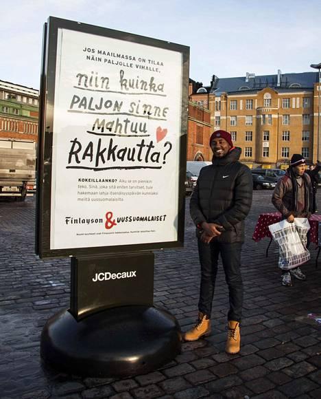 Somaliasta teini-ikäisenä Kontiolahdelle tullut Said Ahmed asuu nykyisin Helsingissä.