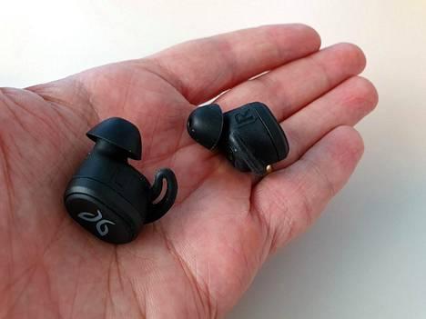 Jaybird Vista -kuulokkeet ovat pienet ja kevyet.