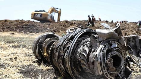 Etiopiassa 2019 pudonneen Boeing 737 Max -koneen kyydissä oli 157 ihmistä.