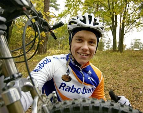 Jukka Vastaranta vuonna 2003. Hän pohtii uransa jatkoa parhaillaan.