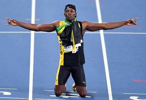 Riossa Bolt heitti jäähyväiset olympialaisille voittamalla – jälleen kerran – kaiken mahdollisen. Kolmen olympiakullan myötä Boltista tuli kahdeksankertainen olympiavoittaja kun viestimenestys huomioidaan.