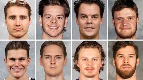Muun muassa nämä suomalaiset pelaavat NHL:ssä.