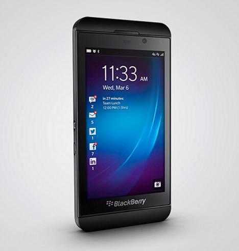 Blackberry Z10 on myynyt hyvin Kanadassa ja Britanniassa, mutta japanilaisten on turha haikailla laitteen perään.