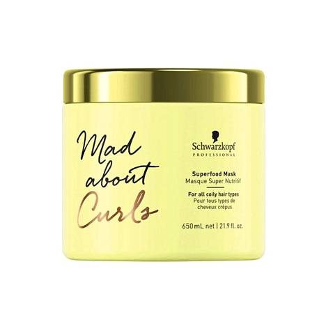 Schwarzkopf Mad About Curls Superfood Mask, 25,90 € / 650 ml.