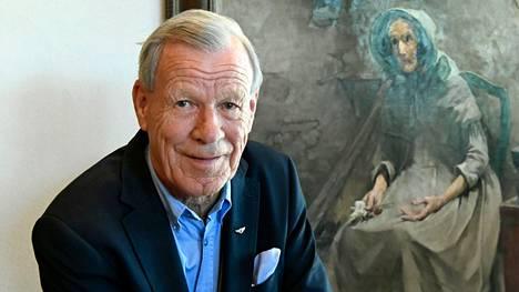 Anders Wiklöf on luultavasti Ahvenanmaan tunnetuin asukas (arkistokuva).