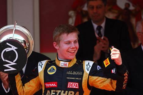 Aaro Vainio on viimeisin suomalainen, joka on voittanut formulakisan Monacossa. GP3-kisan 2012 voittopokaali on hänen kotonaan vitriinissä.