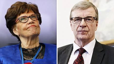 Sirkka-Liisa Anttila ja Timo Kalli.