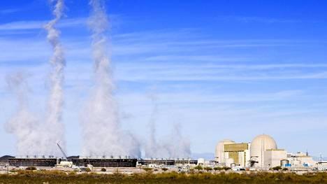 Palo Verden ydinvoimala tuottaa 35 prosenttia Arizonan sähköstä.