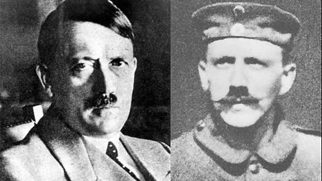 Hitlerin viiksityyli muuttui käytännön pakosta.
