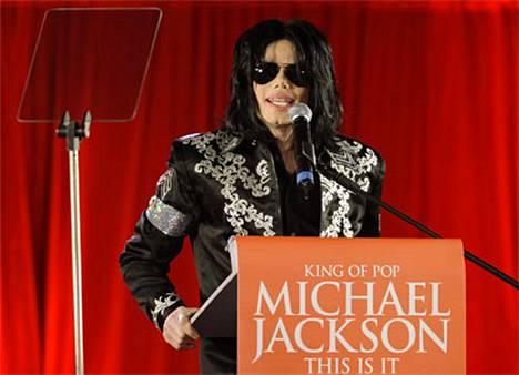 Michael Jackson julkisti torstaina This is it -konserttinsa.