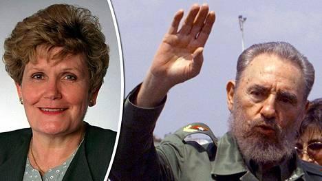 Fidel Castron kesällä 1998 tavannut Eila Rimmi muistaa Castron olleen äärettömän kiinnostunut Suomesta.