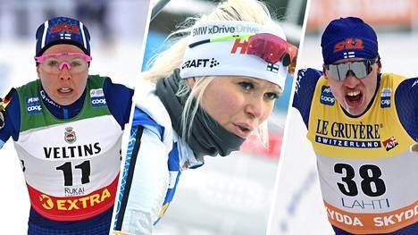 IS seuraa Rukan ja Kontiolahden maailmancupien lauantain tapahtumia.