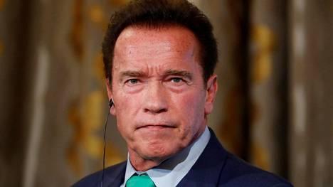 Arnold Schwarzenegger kuvattiin Pariisissa 11. joulukuuta 2017.