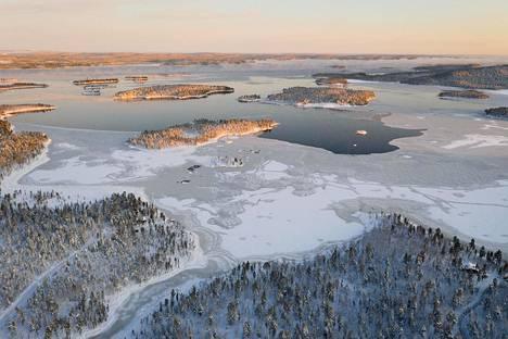 Amerikkalainen tv-yhtiö CNN valitsi Inarijärven Euroopan kauneimmaksi 2019.
