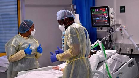 Koronapotilasta hoidettiin Britanniassa Milton Keynesin yliopistollisessa sairaalassa tammikuun lopulla.