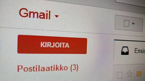 Viestien esitystapaa voi muunnella Gmailia tietokoneen selaimella käytettäessä.