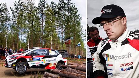 Jari-Matti Latvala mokasi 14. erikoiskokeella.