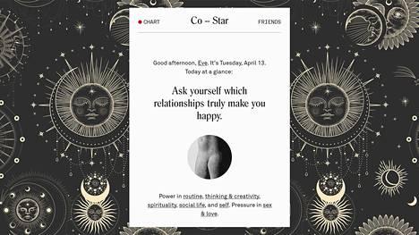 Co-Star on yksi suosituimmista horoskooppisovelluksista.