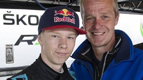 Kalle ja Harri Rovanperä.