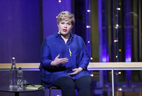Keskustan puheenjohtaja Annika Saarikko.