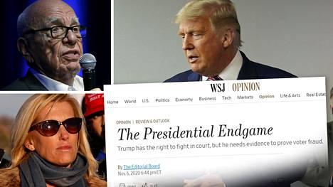 Donald Trumpia tukeneet Rupert Murdochin kanavat ja lehdet sekä niiden toimittajat ovat julkaisseet myös kriittisiä kommentteja Trumpista ääntenlaskennan edetessä.