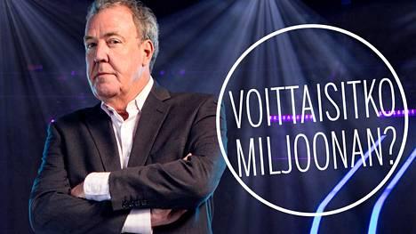 Jeremy Clarkson juontaa Haluatko miljonääriksi -visan brittiversiota.