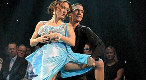 Mariskan ja Aleksin tanssi ei riittänyt jatkopaikkaan.
