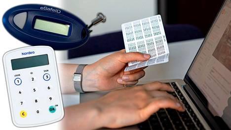 Eri pankit ovat päätyneet keskenään erilaisiin ratkaisuihin verkkopankkiin kirjautumiseen ja asiakkaan tunnistautumiseen.